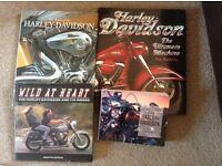 4 used Harley Davidson Books