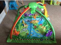 Fisher Price Rainforest Jungle Gym Play Mat