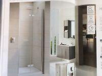 Top of the range new shower door