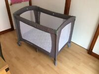 MotherCare Classic Travel Cot & Anti-Allergy Travel Mattress