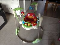 Rainforest Jumperoo bouncer, very good condition