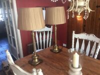 Stunning VERY LARGE lamps. Originally from John Lewis