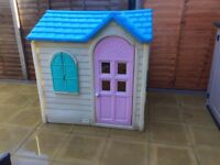 Little Tikes country cottage Wendy house.