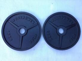 8 x 15kg Bodypower v1 Olympic Cast Iron Weights