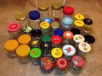 Glass jars (X 40)
