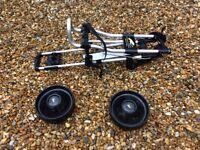 Powacaddy 2 wheel golf trolley