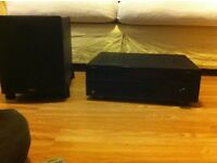 Yamaha HDMI Amp and Sub Wofer