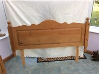 Solid Pine Headboard for Kingsize Bed