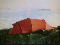 Hilleberg Nallo 3 GT As New With Unused Footprint.