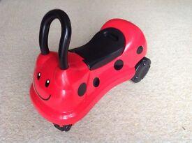 Ride-on Ladybird