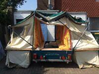 Raclet Marathon trailer tent