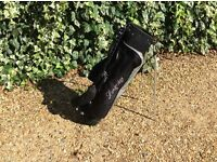 golf bag with stand very good