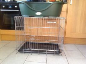 Dog bed and dog cage / dog crate