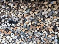 Firewood logs and tree branches fire wood burner delivery