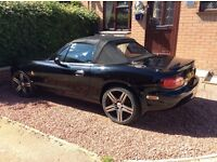 Mazda MX5 in excellent condition a real head turner