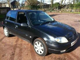 2001 51 CITROEN SAXO 1.1 **5-DOOR**VERY LOW MILEAGE**MOT JUNE**POWER STEERING