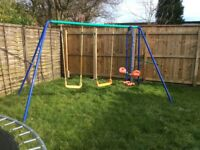 Childrens' Garden Swings Combination