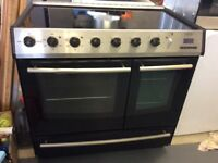 BELLING 90cm double oven. Fully serviced.Working perfect.