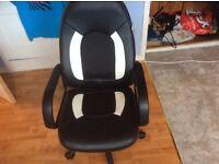 A computer chair