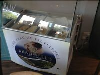 Commercial ice cream freezer nearly new perfect condition holds 7 napolis
