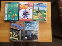 CD-ROM Children's Maths, Science, Darts etc