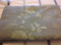 Teal Lined Curtains by Dunelm from clean, smoke free home