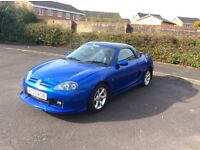 MG MGTF. 03. PR PLATE optional. £775. PARTX POSS. £775.