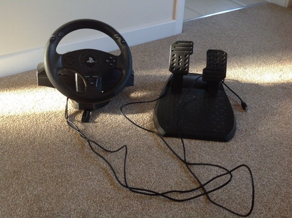 Thrustmaster T80 Steering Wheel And Pedals In Norwich