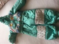 Girls Snowsuit 1-2 Years