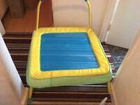 Junior trampoline indoor/outdoor use
