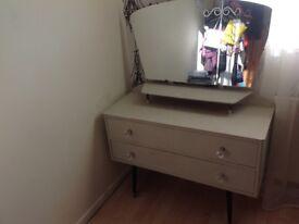 Dresser shabby chic dressing table women bedroom