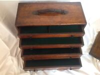 For Sale: Vintage Engineers tool box - cabinet - chest.