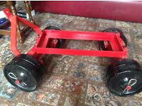 Heavy Duty Stationery engine trolley