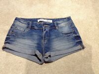 Brand New Blue Denim Shorts - Size 8