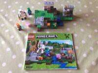 Big bundle of Minecraft Lego