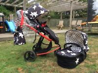 Cossatto All Stars buggy and carry cot