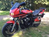 Yamaha Fazer-low mileage and great condition