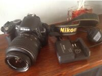 Nikon D3000 Digital SLR Camera with AF-S DX VR 18-55mm Lens, Plus option on 55-200 lens