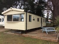 Caravan hire Haven wild duck holiday park Monday 1st -5th oct £199