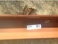 Wicked Squareline Brown Guttering