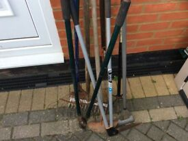 Gardening tool in good condition grab your self a bargain.