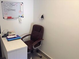 SB Lets are delighted to offer a FULLY EQUIPPED COMPACT OFFICE TO RENT WITH SHARED KITCHEN & TOILET.