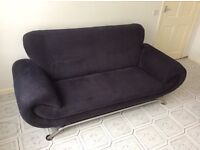 Modern Black Sofa's