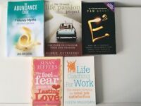 NEW £5 each Personal Development and Self Help Books
