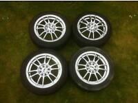 "15"" Alloy wheels 4x100 4x108 (brand new)"