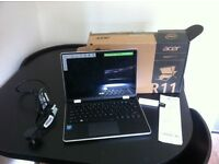 Acer r11 laptop/tablet & back up USB 9 month old used only a couple of times