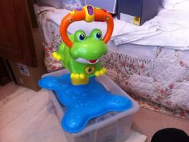 VTECH Bounce & Discover Musical Talking Frog - Fun & Educational