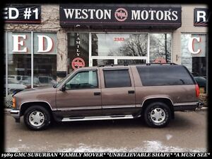 1998 GMC Suburban *FAMILY MOVER *UNBELIEVABLE SHAPE *A MUST SEE!