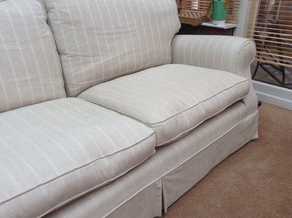 Laura ashley large padstow sofa 4 x large cushion l Sofa depth