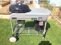 A weber barbecue
